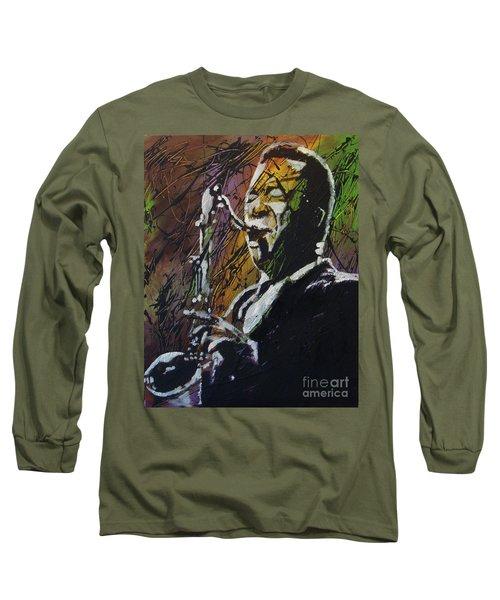 Coltrane Long Sleeve T-Shirt by Stuart Engel