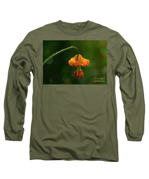 Columbia Lily With Dew Long Sleeve T-Shirt