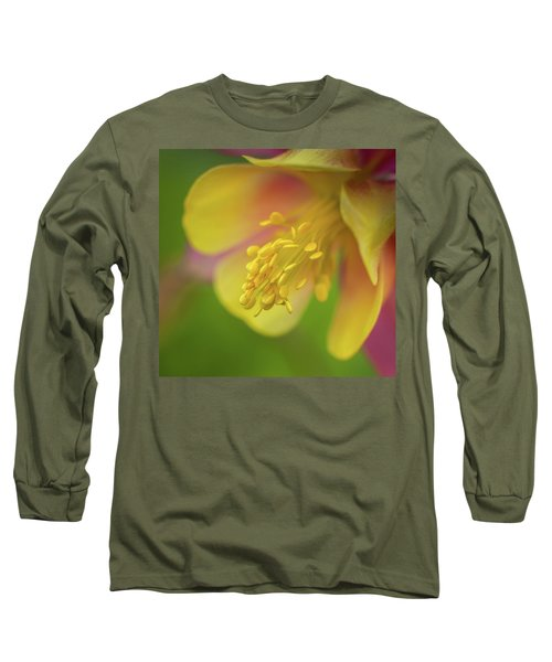 Long Sleeve T-Shirt featuring the photograph Columbine by Greg Nyquist