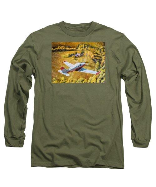Comanche Long Sleeve T-Shirt by Douglas Castleman