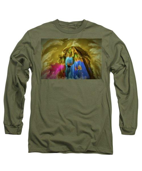 Comfrey Paint #h8 Long Sleeve T-Shirt