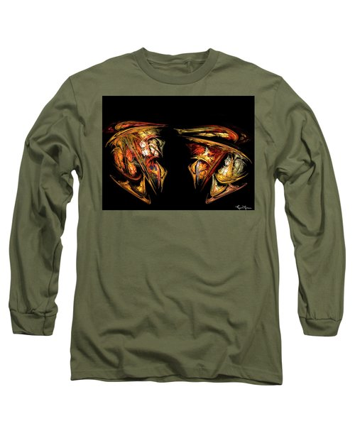 Coming Face To Face Long Sleeve T-Shirt