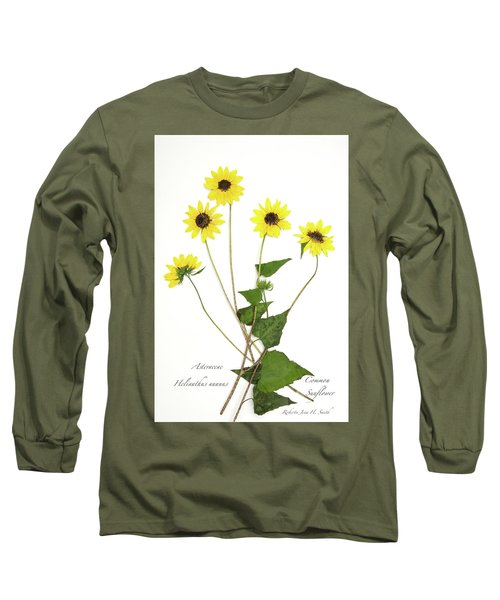 Common Sunflower Long Sleeve T-Shirt