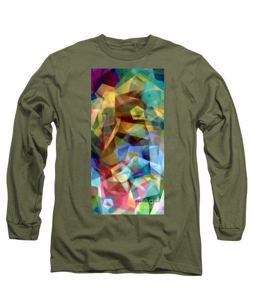 Long Sleeve T-Shirt featuring the digital art Complicated Sunset by Rafael Salazar
