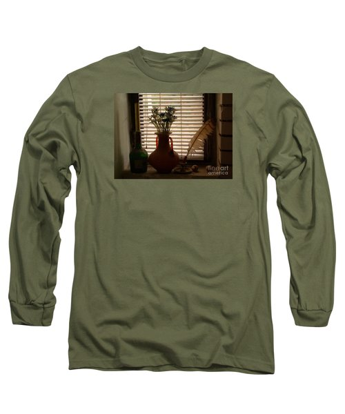 Composition Long Sleeve T-Shirt by AmaS Art