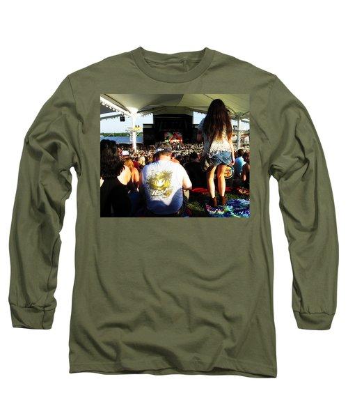 Concert Crowd Long Sleeve T-Shirt