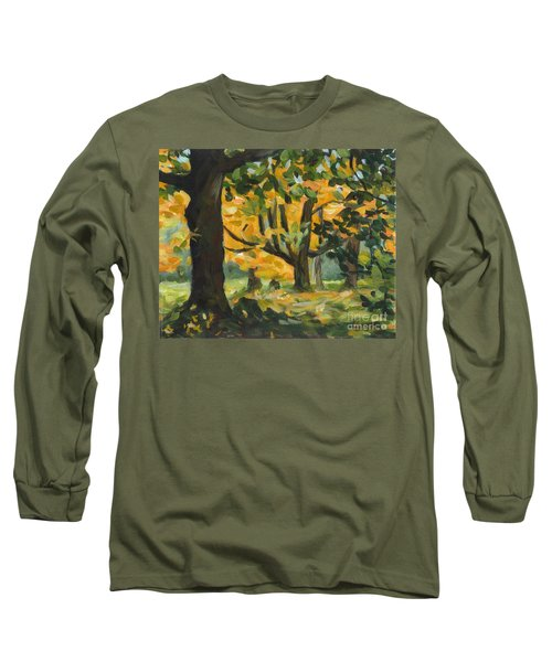 Concord Fall Trees Long Sleeve T-Shirt