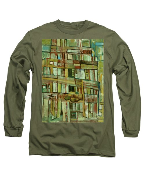 Long Sleeve T-Shirt featuring the painting Condo by Paul McKey