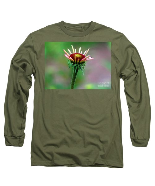 Coneflower Bloom Long Sleeve T-Shirt
