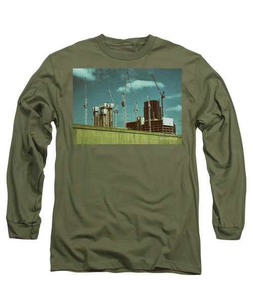 Construction Works In Stratford Long Sleeve T-Shirt