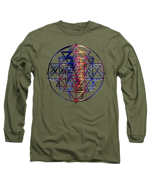 Container Of Essence Long Sleeve T-Shirt by Iowan Stone-Flowers