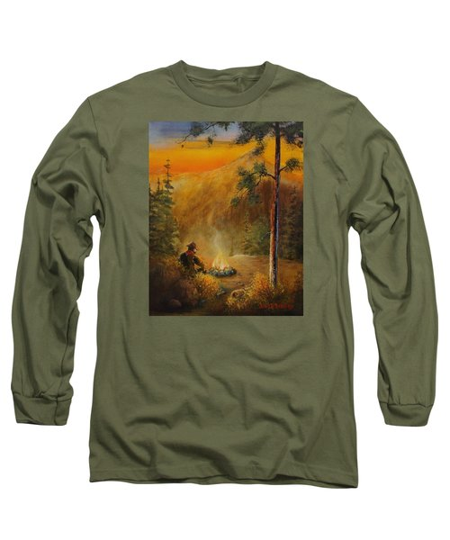 Contemplating The Journey Long Sleeve T-Shirt