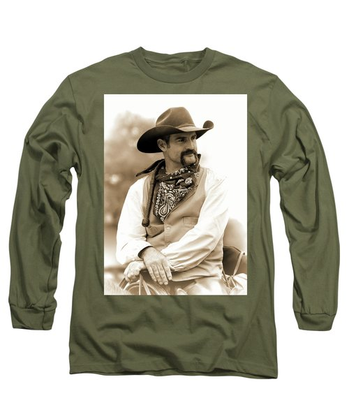 Content In The Saddle Long Sleeve T-Shirt
