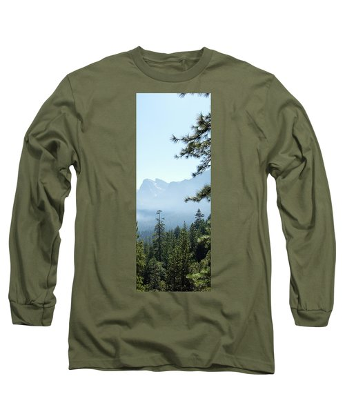 3 Of 4 Controlled Burn Of Yosemite Section Long Sleeve T-Shirt