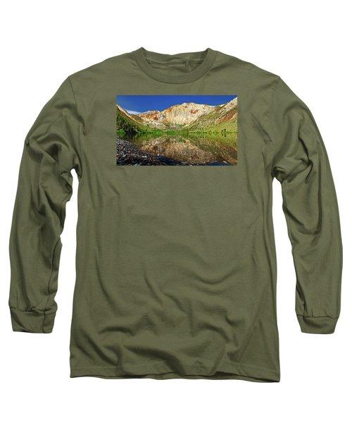 Convict Lake Long Sleeve T-Shirt by Rick Furmanek