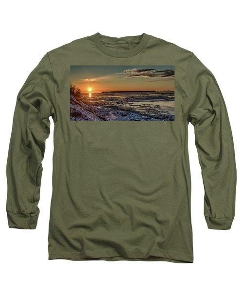 Cook Inlet Sunset Alaska  Long Sleeve T-Shirt