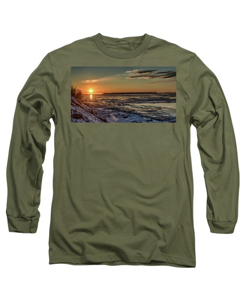 Cook Inlet Sunset Alaska  Long Sleeve T-Shirt