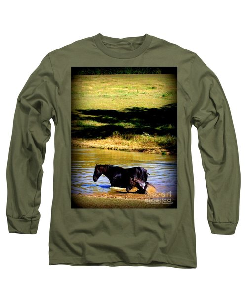 Cooling Off Long Sleeve T-Shirt