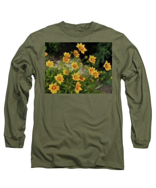 Coreopsis Tickseed Long Sleeve T-Shirt