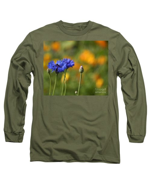 Cornflowers -2- Long Sleeve T-Shirt
