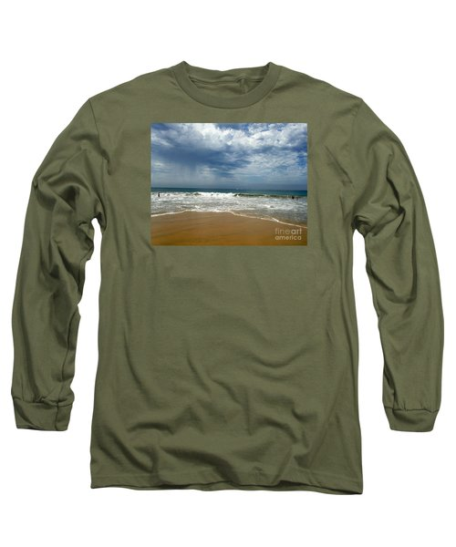 Corona Del Mar 1 Long Sleeve T-Shirt by Cheryl Del Toro