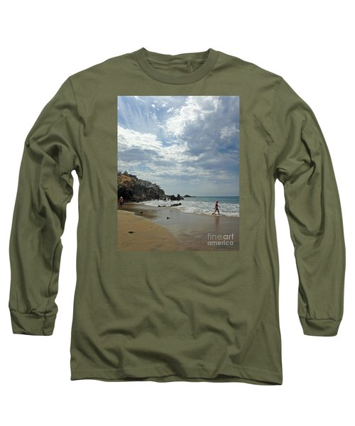 Corona Del Mar 3 Long Sleeve T-Shirt by Cheryl Del Toro