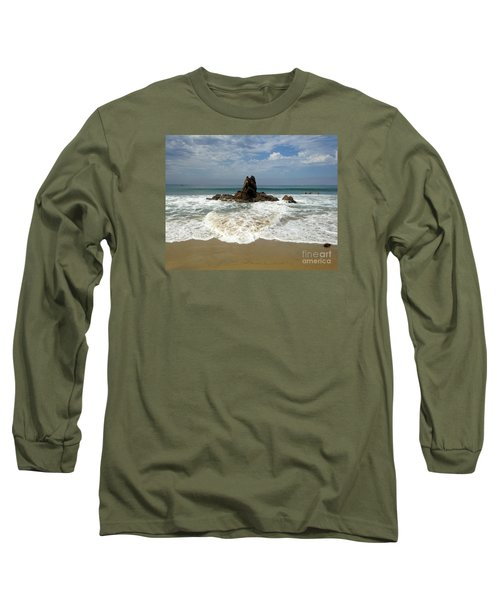 Corona Del Mar 4 Long Sleeve T-Shirt by Cheryl Del Toro