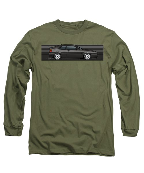 Corrado Black Stripes Long Sleeve T-Shirt