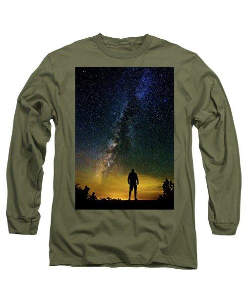 Cosmic Contemplation Long Sleeve T-Shirt