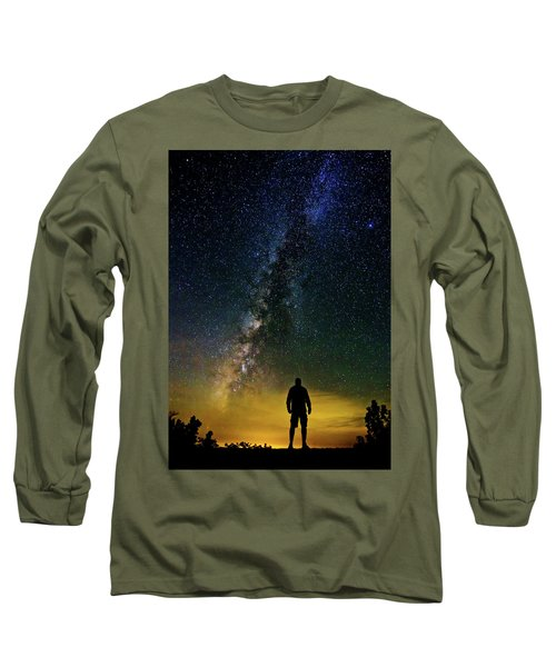 Cosmic Contemplation Long Sleeve T-Shirt