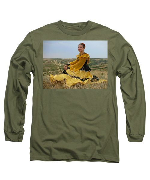 Cossack Young Lady Long Sleeve T-Shirt