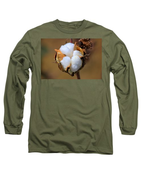 Cotton Boll Long Sleeve T-Shirt