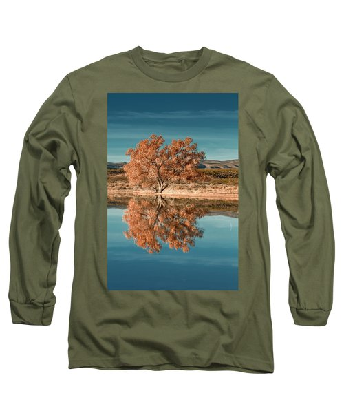 Cotton Wood Tree  Long Sleeve T-Shirt