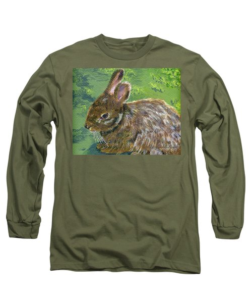 Cottontail Long Sleeve T-Shirt by Lynne Reichhart