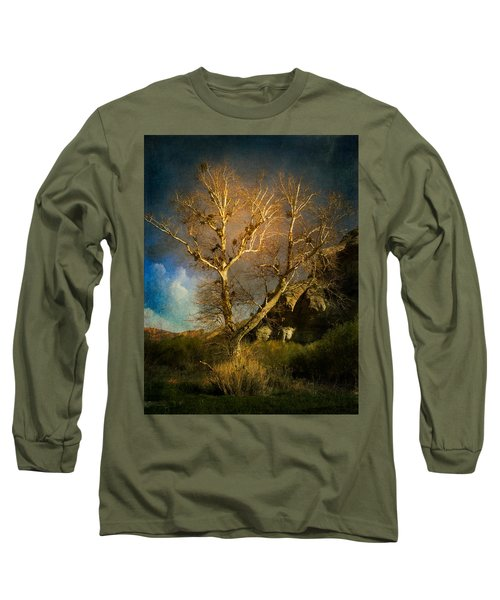 Cottonwood Tree Long Sleeve T-Shirt
