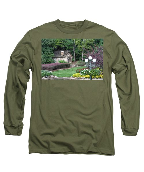 Country Cottage Long Sleeve T-Shirt