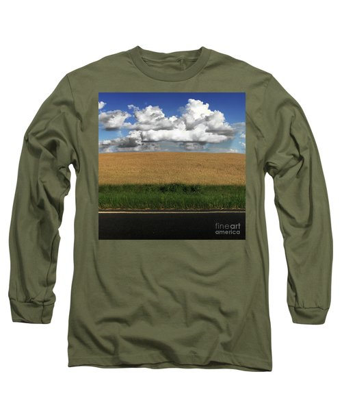 Country Field Long Sleeve T-Shirt by Brian Jones