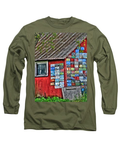 Country Graffiti Long Sleeve T-Shirt