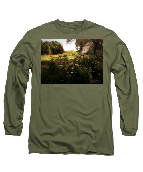 Country House Long Sleeve T-Shirt by Cynthia Lassiter