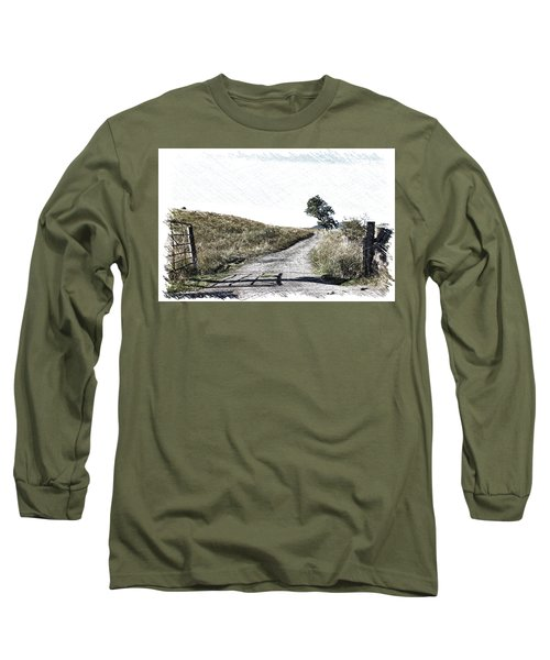 Country Lane Long Sleeve T-Shirt by RKAB Works