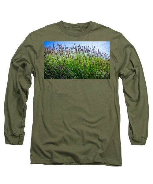 Country Lavender II Long Sleeve T-Shirt
