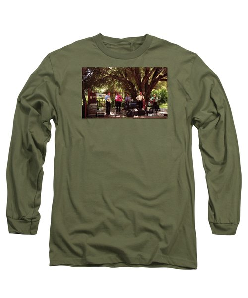 Country Music California Stage Long Sleeve T-Shirt by Ted Pollard