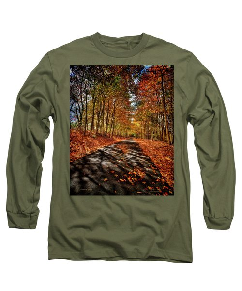 Country Road Long Sleeve T-Shirt by Mark Allen
