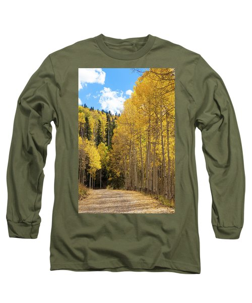 Country Roads Long Sleeve T-Shirt by David Chandler
