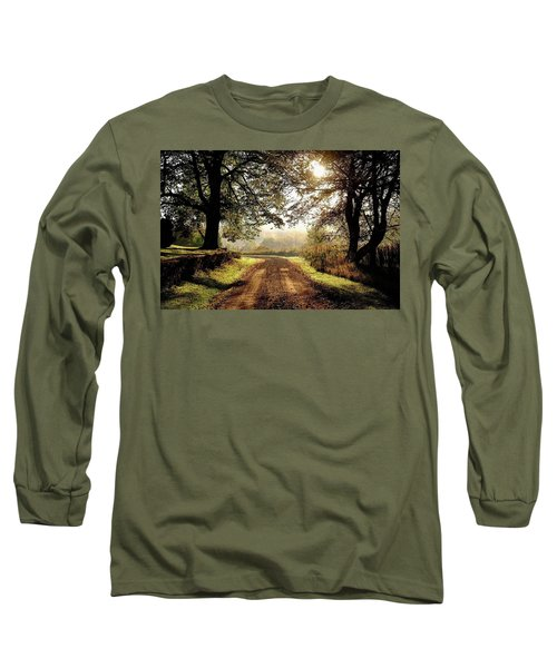 Country Roads Long Sleeve T-Shirt by Ronda Ryan