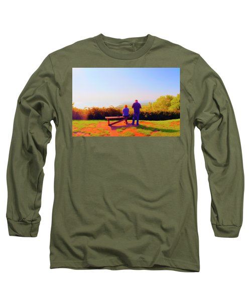 Couple Views Long Sleeve T-Shirt by Jan W Faul