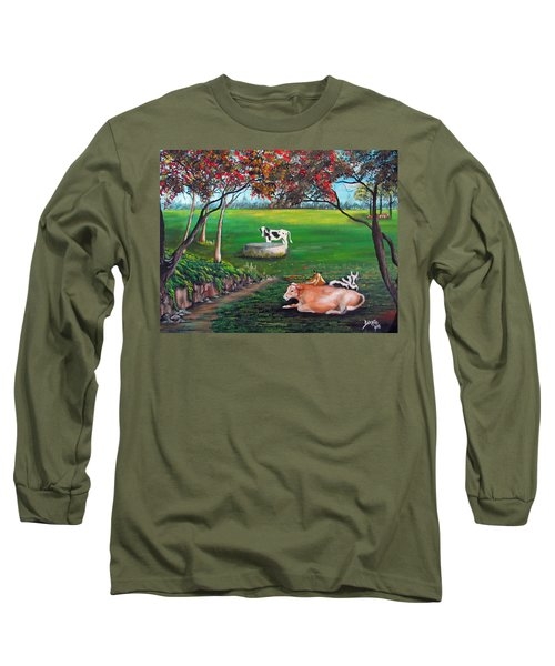 Cow Tales Long Sleeve T-Shirt