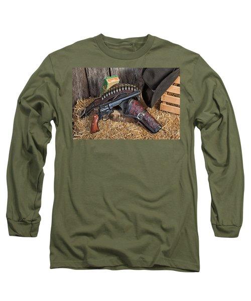 Cowboy Gunbelt Long Sleeve T-Shirt