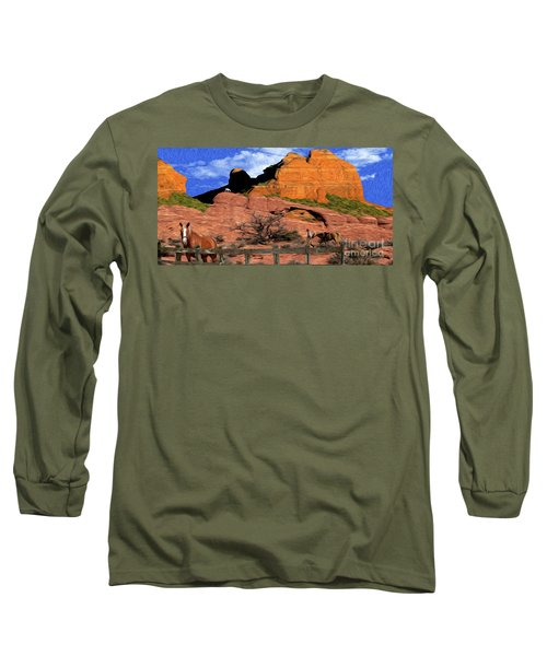 Cowboy Sedona Ver3 Long Sleeve T-Shirt