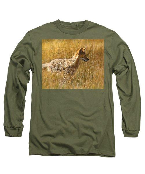 Coyote Sunshine Long Sleeve T-Shirt